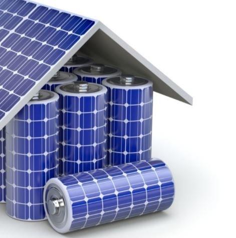 Impianto fotovoltaico con batteria