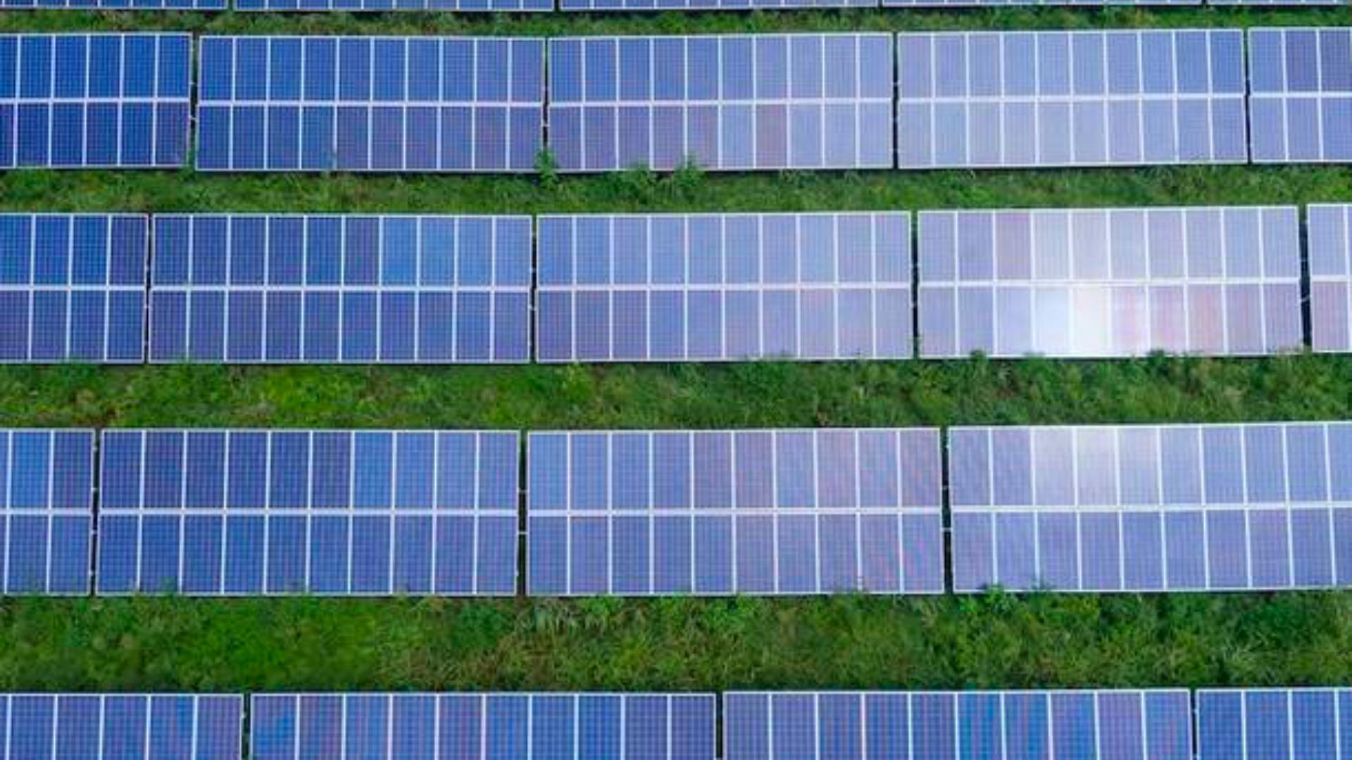 Produzione di energia solare
