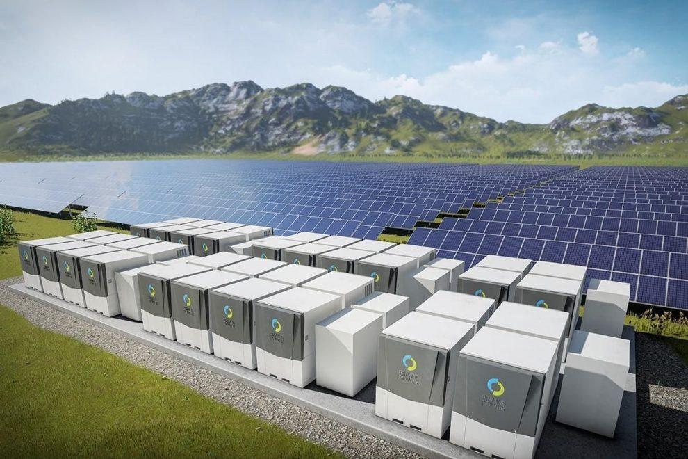 Batteria solare